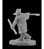 Slavic warrior with javelins #8