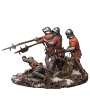 War of the Roses. English infantry