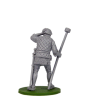 Spanish artilleryman with ramrod