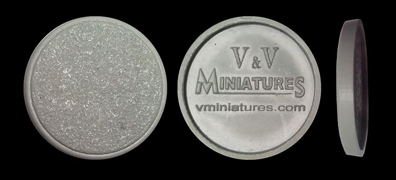 25mm Round Plastic Bases (50 Base Pack)