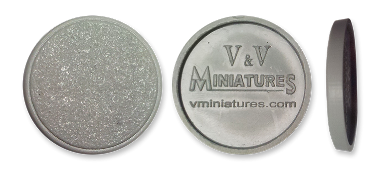 25mm Round Plastic Bases (48 Base Pack)