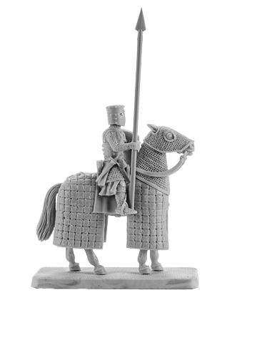 Mounted Crusader Knight #5