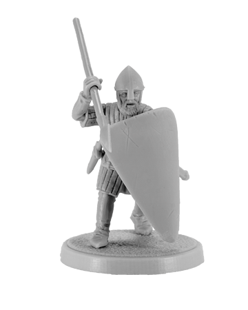 Crusader with spear  # 1