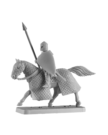 Mounted Crusader Knight #2