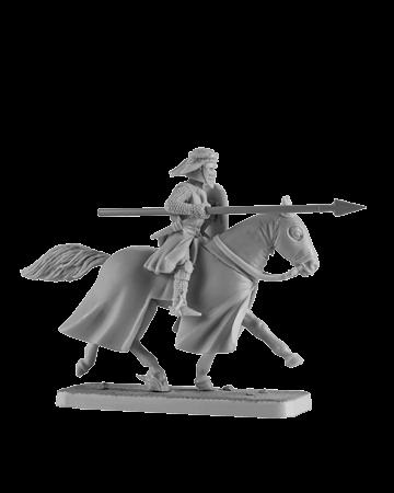 Mounted Crusader Knight #3