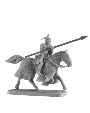 Mounted Crusader Knight #4