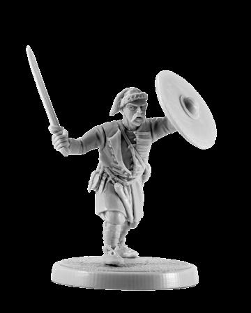 Slavic warrior with a sword #5