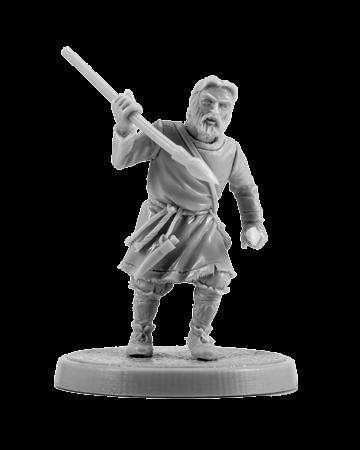 Slavic warrior with the darts #1