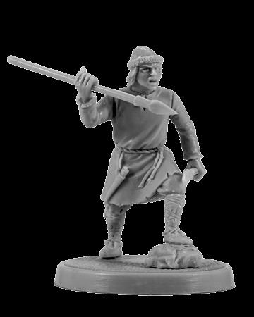 Slavic warrior with the darts #7