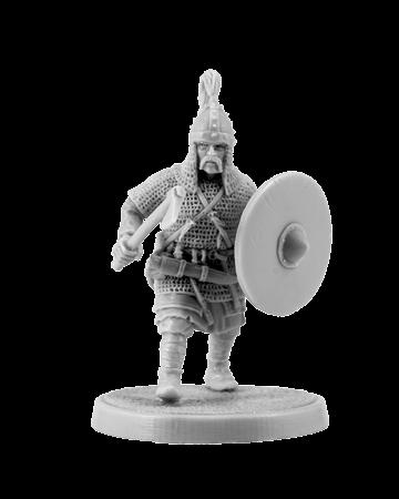 Slavic warrior with ax #1