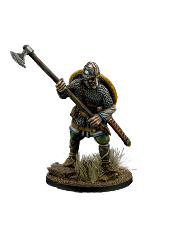 The Anglo-Saxon warrior with ax