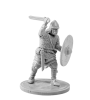 Anglo-Saxon warrior with sword