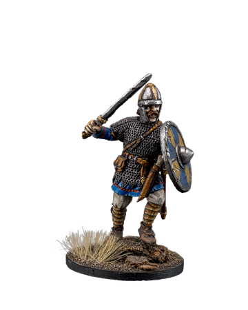 Anglo-Saxon warrior with sword #2