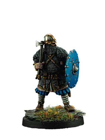 Viking with axe #8