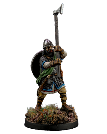 Viking with broad axe #3