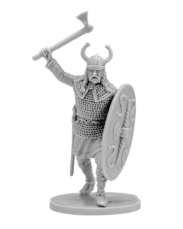 Gallic warrior with ax