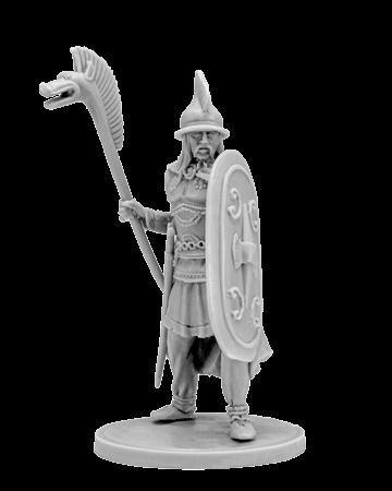 Gallic warrior with carnyx
