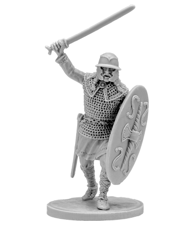 Gallic warrior with sword