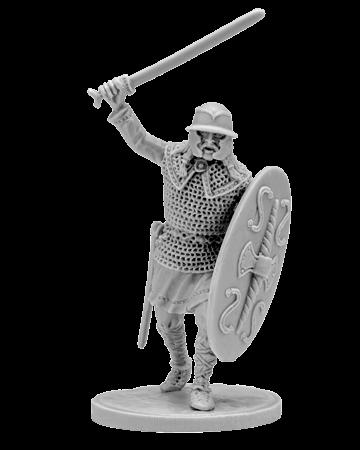Gallic warrior with sword