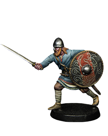 Viking with sword