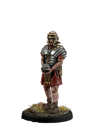 Roman artilleryman with a nucleus