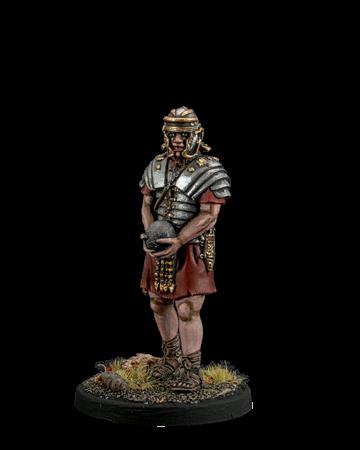 Roman artilleryman with a nucleus
