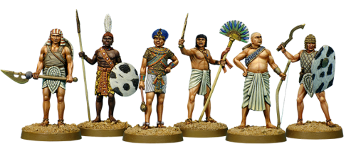 Exclusive Figures Of Egyptian Soldiers