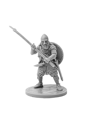 Viking with broad axe №2