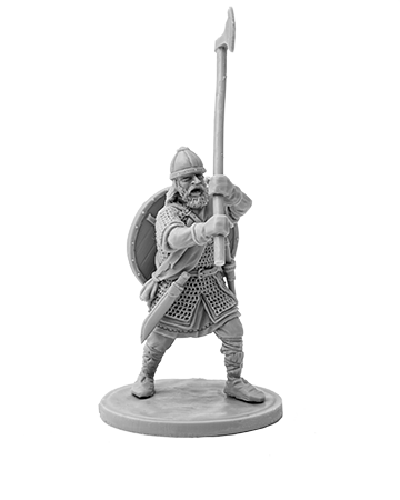Viking with broad axe №3