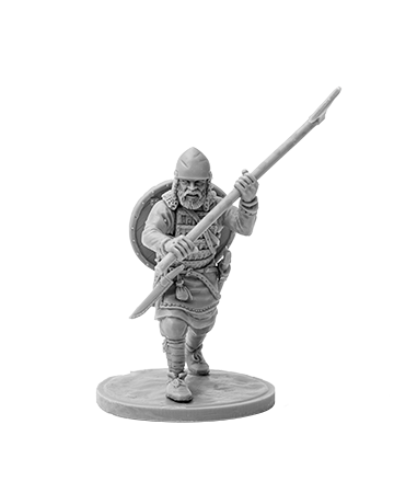 Viking with broad axe №4