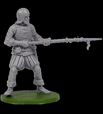 Spanish artilleryman with igniter