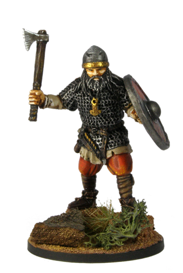 Viking with ax №1