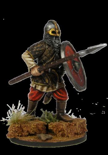 Viking holding spear №1