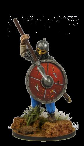 Viking holding spear №2