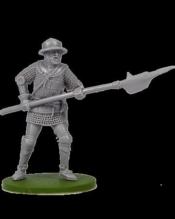 Infantryman with halberd