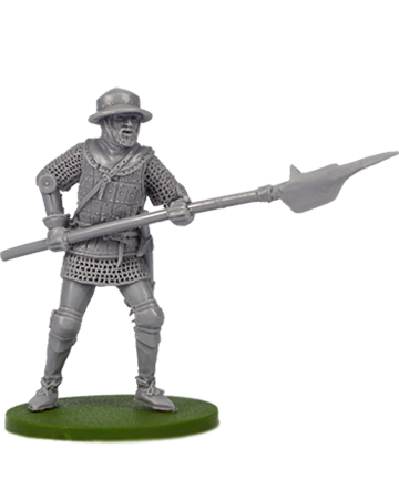 Infantryman with halberd