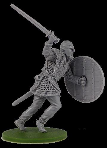 Warrior with sword