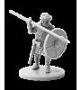 Viking holding spear #5