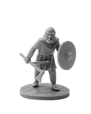 Viking with ax №4