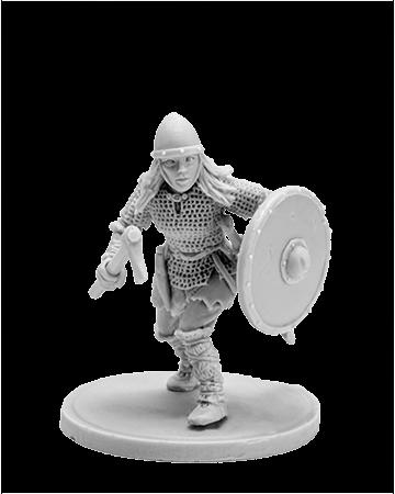Woman warrior #1